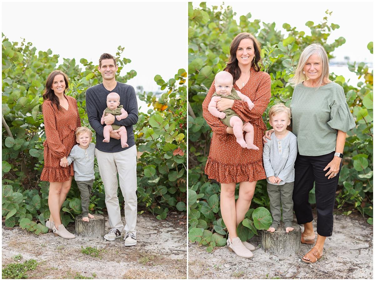 Tampa family photographer beach