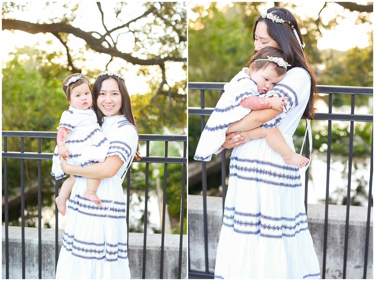 Matching mama and me dresses