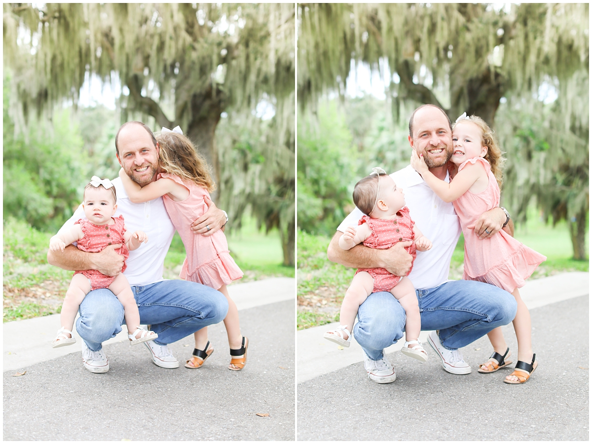 Dad and his little girls Tampa