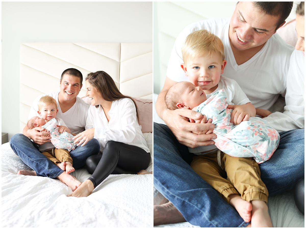 Tampa big brother newborn photos