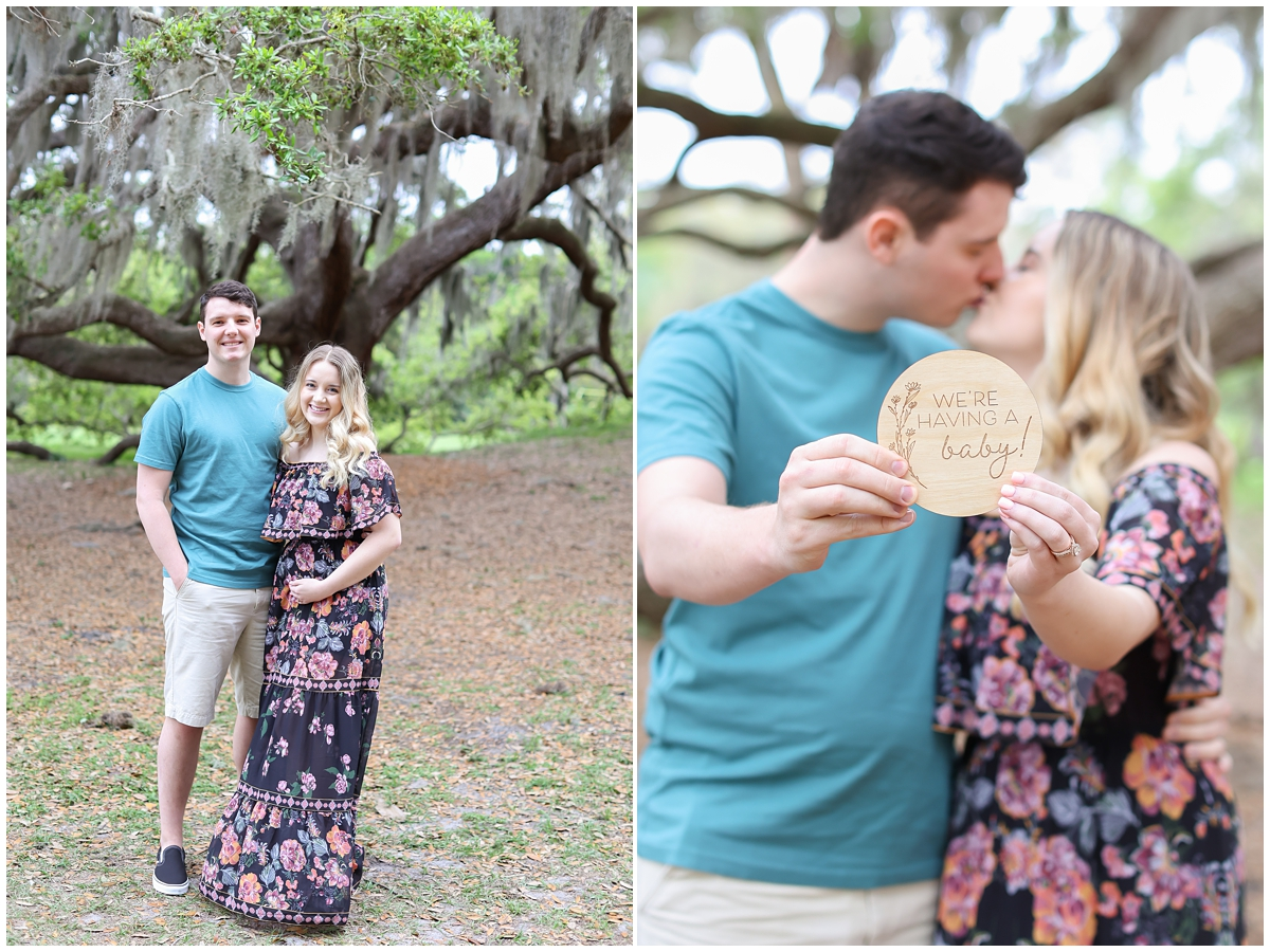 Tampa pregnancy announcement