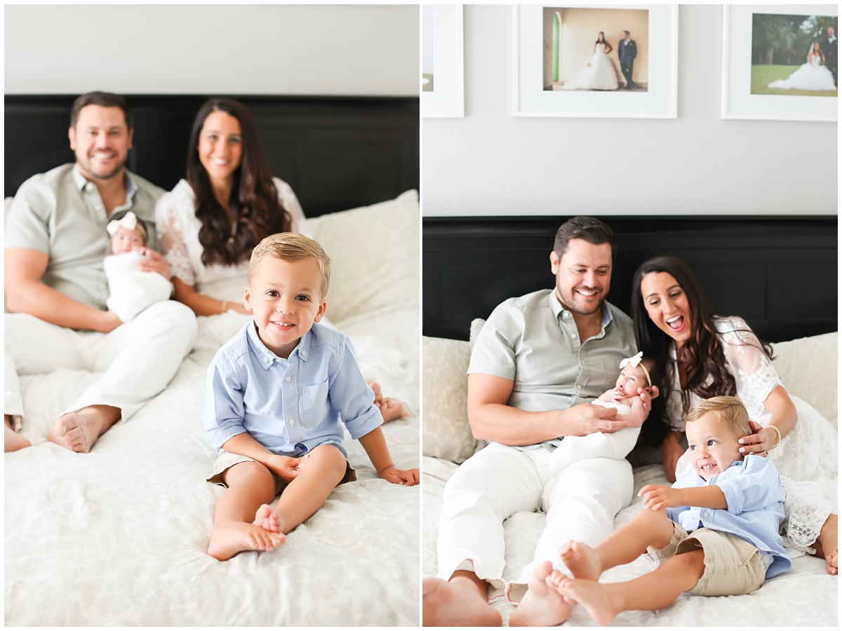 Tampa lifestyle newborn photographer