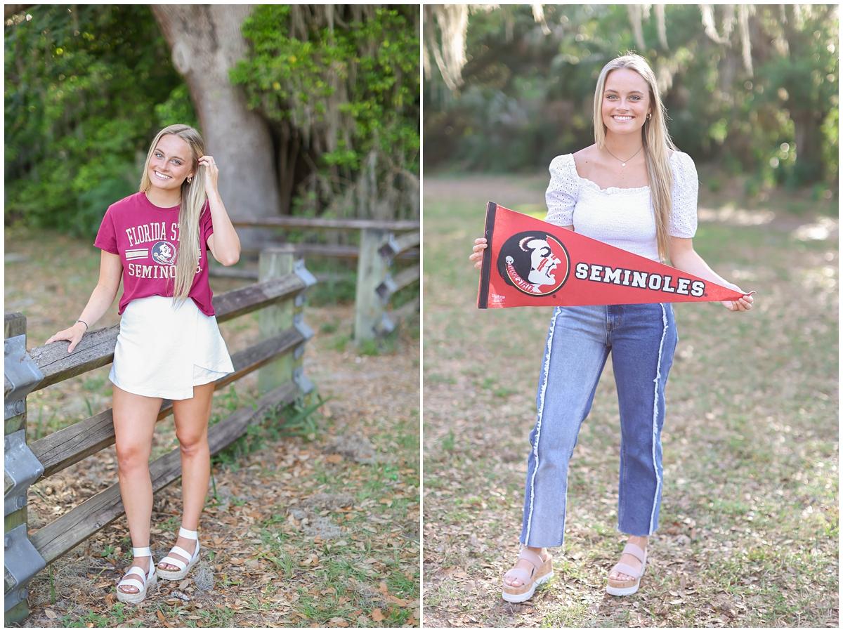 High school senior photos Tampa