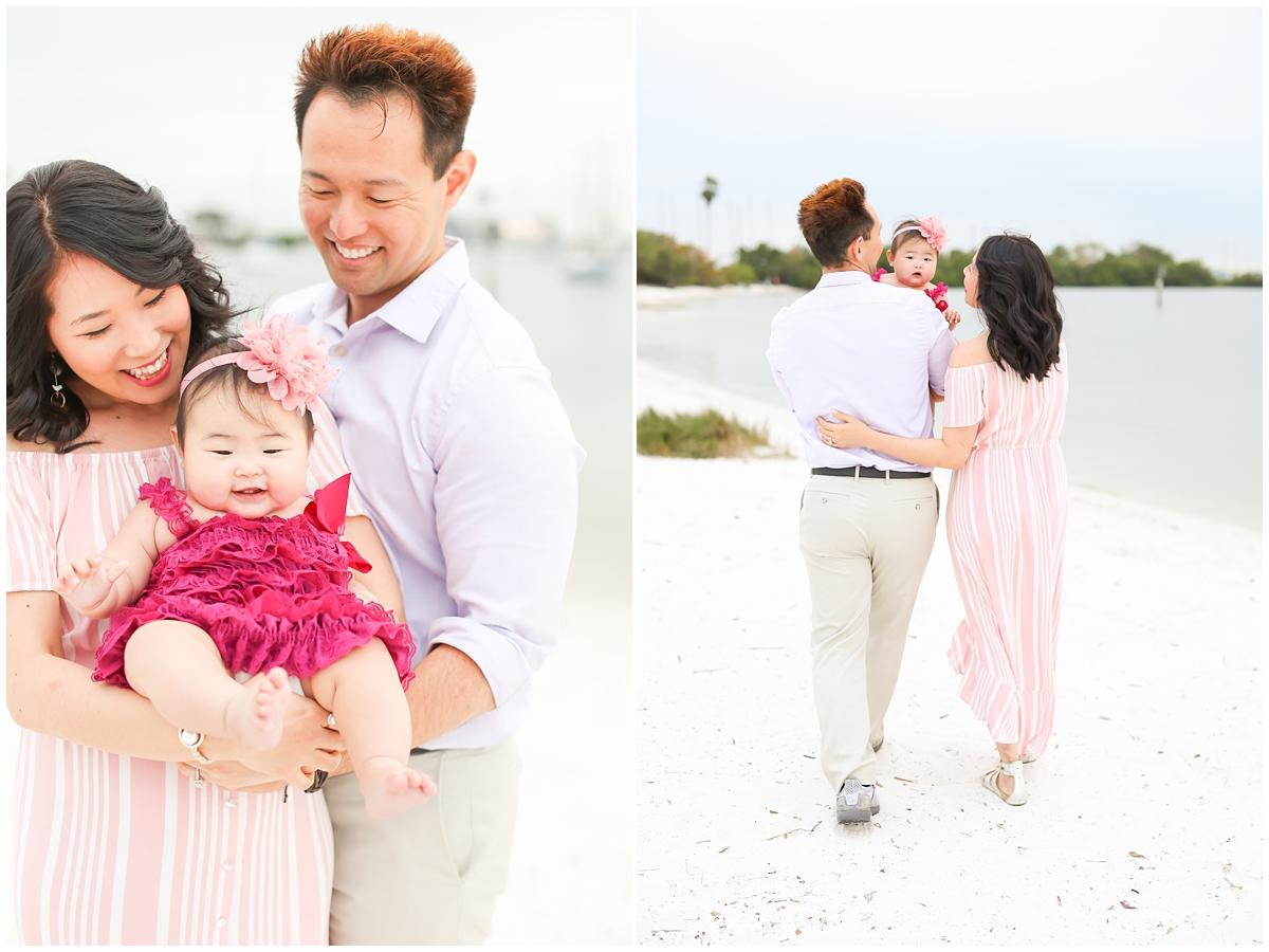 Davis Island Beach family portraits